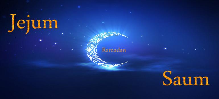 O direito do jejum(Saum) no Islam