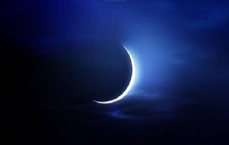 افق، فطر، رمضان