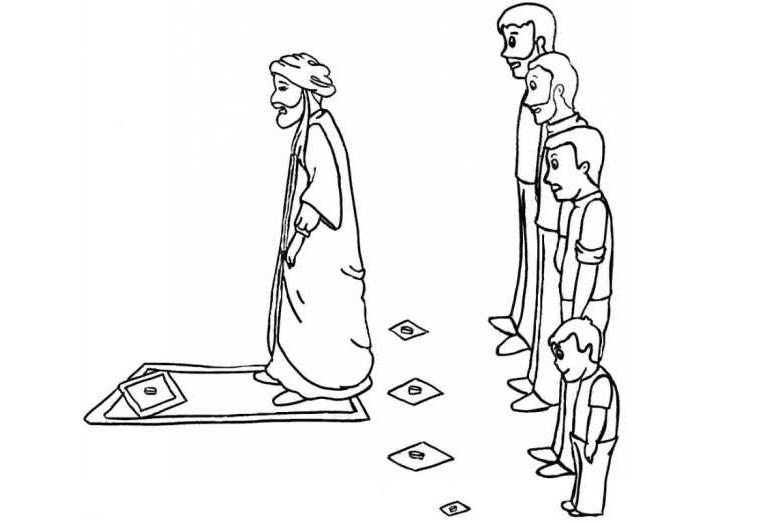 نماز، جماعت،بچه، ممیز