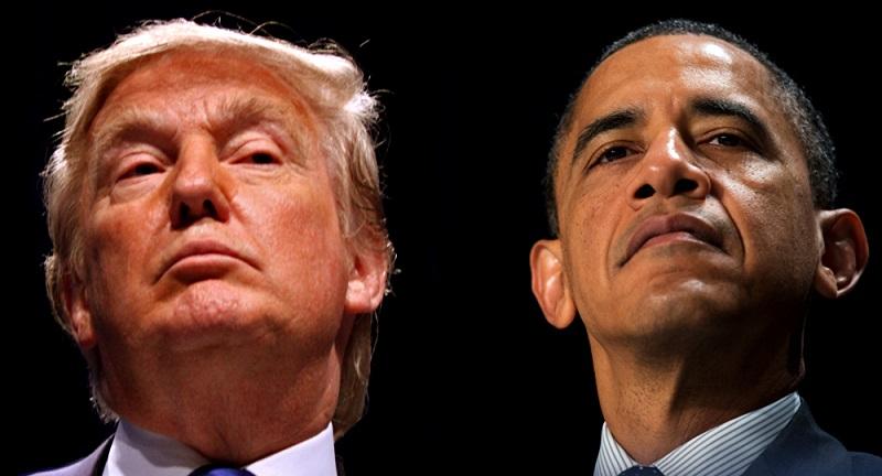 اوباما ترامپ آمریکای دوگانه