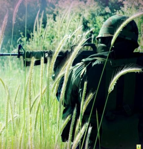 حزب الله لبنان رزمنده سرباز جنگ