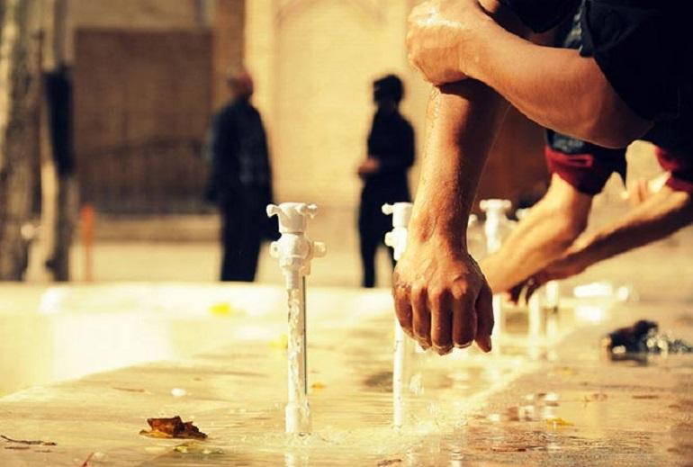 کنتور، برق، آب، مسجد