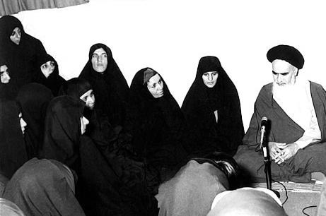 دیدار زنان با امام خمینی