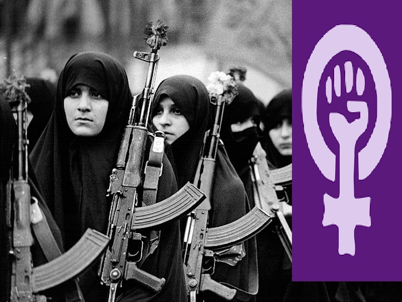 زنان شهید زنان فمینیست