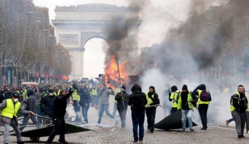 جلیقه زردها پاریس
