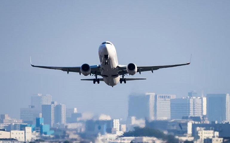 هواپیما، فرودگاه، حد، ترخص، روزه