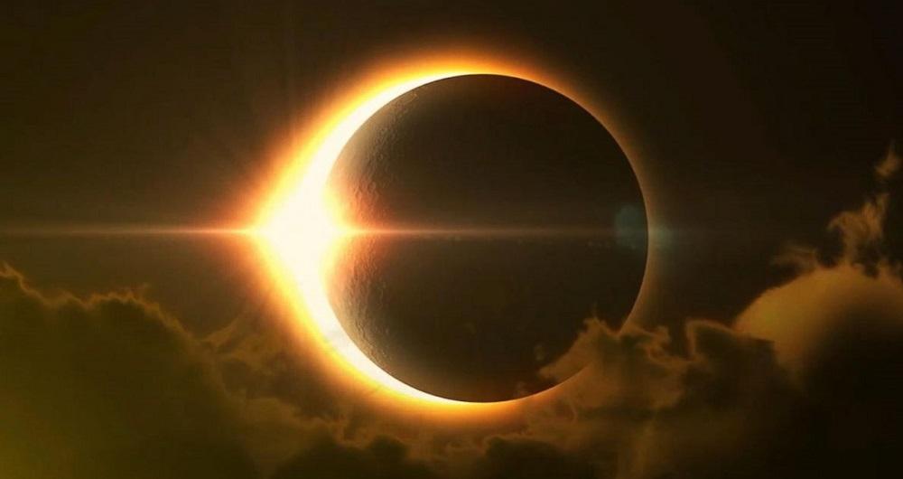 نماز، آیات، خورشید، ماه، خسوف، کسوف