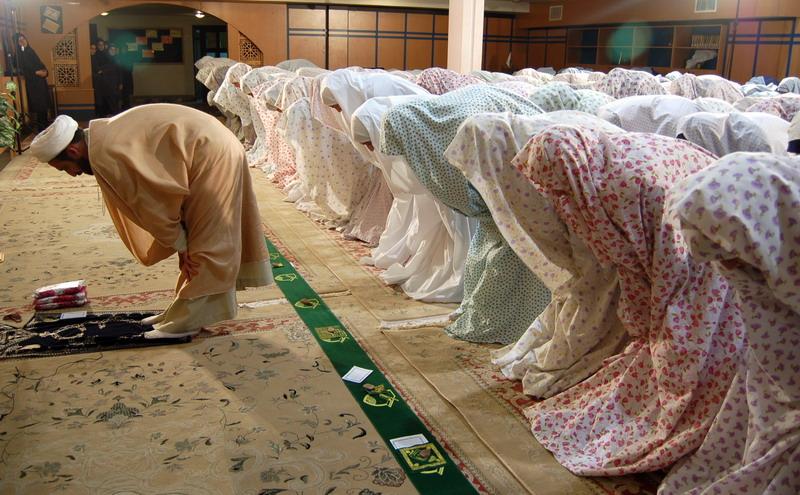 تسبیحات، اربعه، رکوع، نماز، جماعت