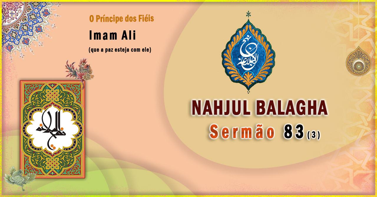 Nahjul Balagha Sermão nº 83 (3)