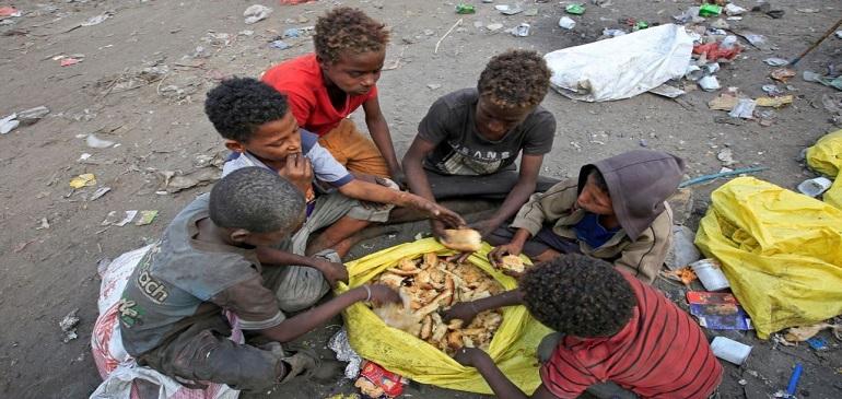 گرسنگی کودکان