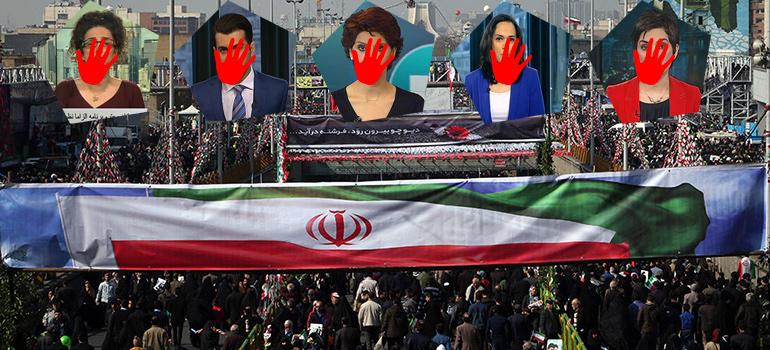 سکوت بیبیسی ساعتها پس از راهپیمایی مردم در ۲۲ بهمن