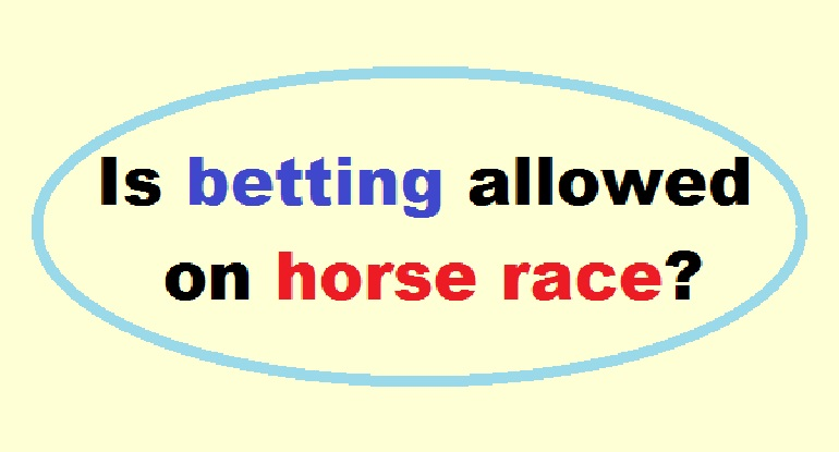 Betting  on Horse Race