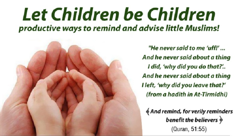 Children are gifts of Allah