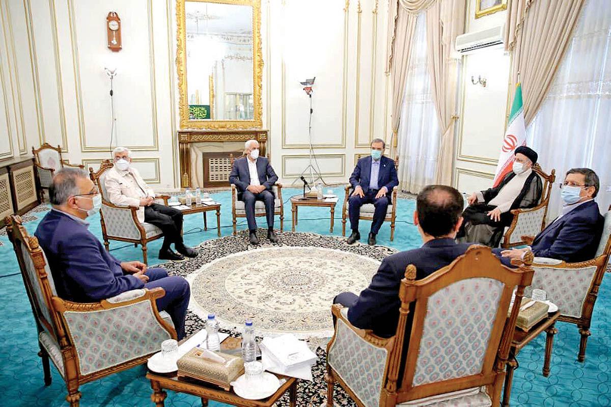 نشست رئیسی با کاندیداهای ریاست جمهوری