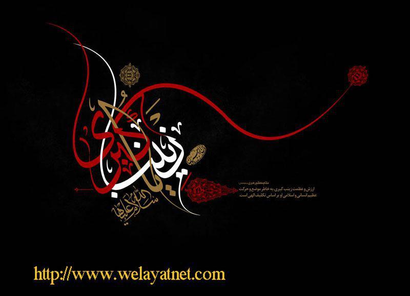 علی کی شیر دل بیٹی
