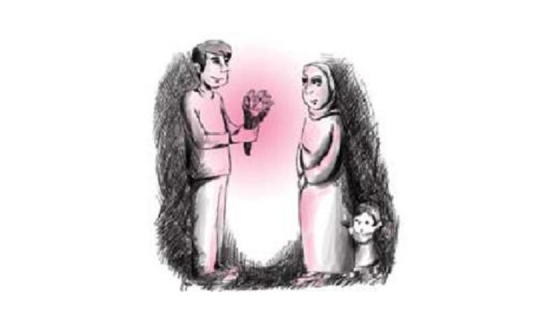 ازدواج خانم مطلقه با پسر مجرد