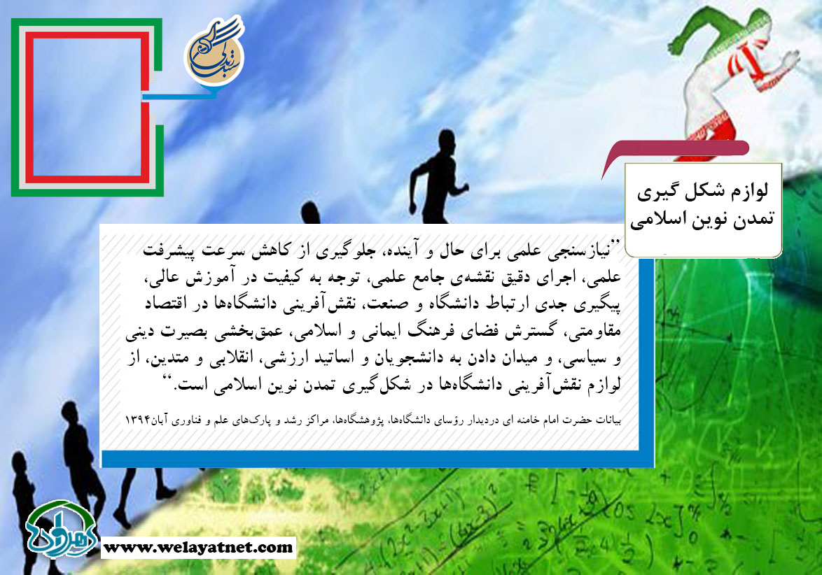 لوازم شکل گیری تمدن نوین اسلامی