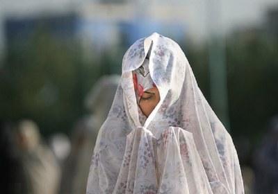 نماز، چادر، نازک