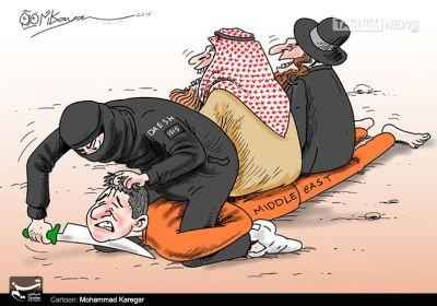داعش؛ دوستی با کفار و دشمنی با مسلمین