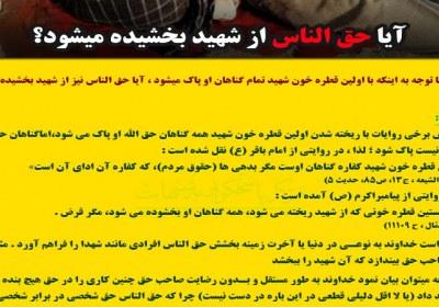 حق الناس در شهید