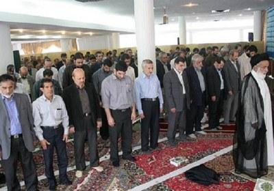 نماز، جماعت، ادارات