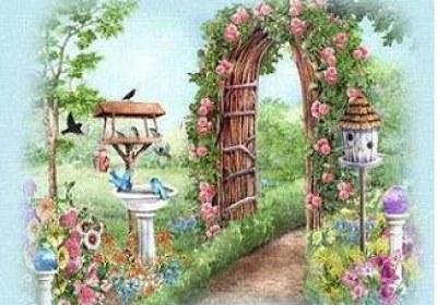 گل و درختان