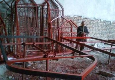 حکم فروش مصالح ساختمانی مسجد