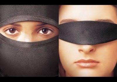 زن محجبه و بد حجاب