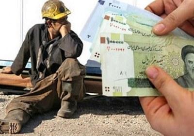 دستمزد، واسطه، کارگر