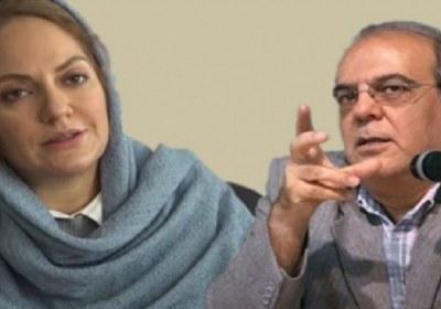 مهناز افشار و عباس عبدی