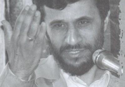 پوستر انتخاباتی احمدی نژاد در سال 84