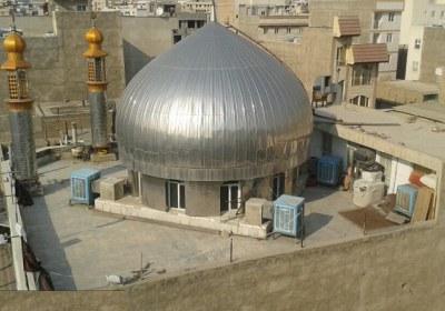 مسجد، نجس، سقف