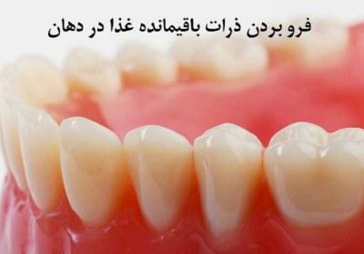 روزه، دندان، فرو بردن