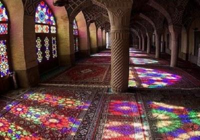 نمایی از مسجد سنتی