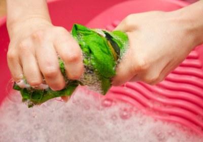 شستن با آب قلیل