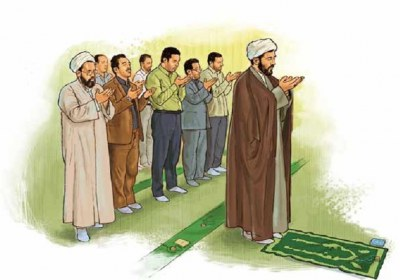 نماز، بدن، حرکت