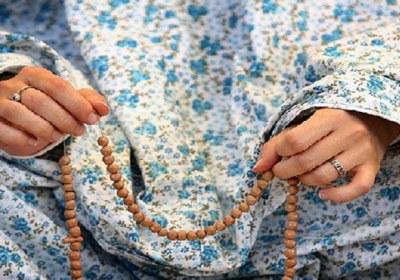 طلا، نذر، نماز