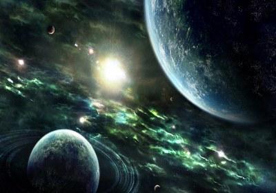 چگونگی خلقت آسمان و زمین