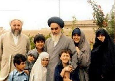 عکس خانوادگی امام خمینی (ره)