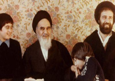 عکس خانوادگی حضرت امام خمینی (ره)