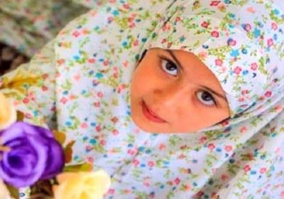 کودک با حجاب