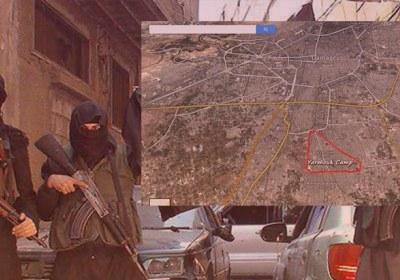 پیشروی داعش در پایتخت سوریه