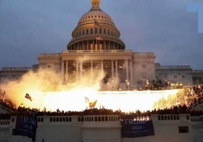 اینجا واشنگتن؛ پایتخت رسوایی لیبرال دموکراسی!