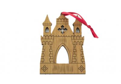 قصر، چوبی