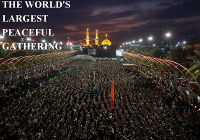 THE WORLD'S LARGEST PEACEFUL GATHERING
