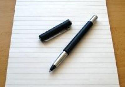 قلم و کاغذ