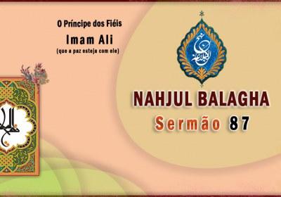 Nahjul Balagha Sermão nº 87