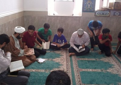 حضور شخص جُنُب در کلاس مسجد