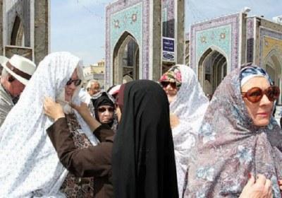 حجاب، مسافر، خارجی