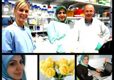 دانشمند محجبه ایرانی
